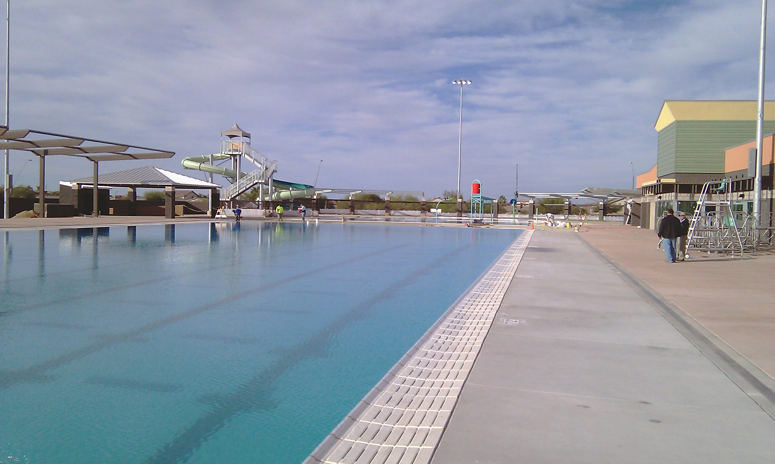 Aquatic queen creek aquatic center - West mesa high school swimming pool ...